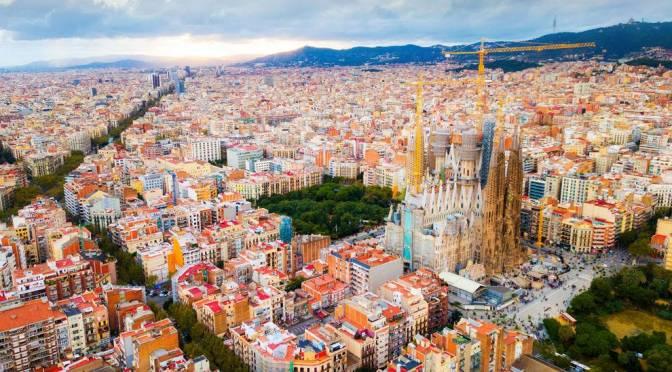 Aerial Views: 'Barcelona – Northeastern Spain' (4K)