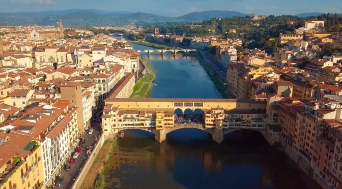 Aerial Views: Florence – Northern Italy (4K Video)