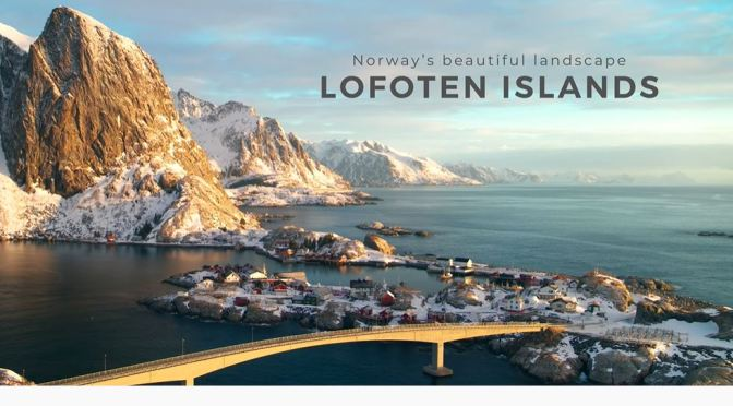 Aerial Views: 'Lofoten Islands – Norway' (4K)