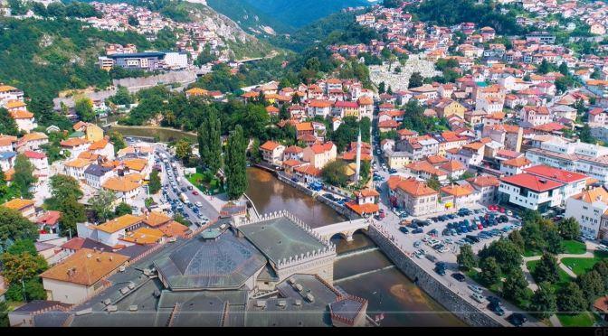 Aerial Views: 'Sarajevo – Bosnia And Herzegoina'