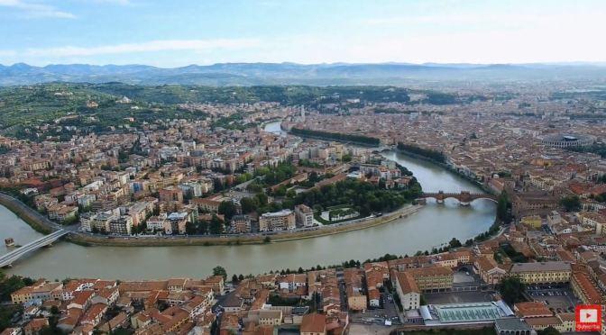 Aerial Views: 'Verona – Northeastern Italy' (4K)