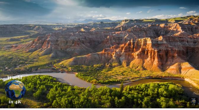 Views: Wyoming – Rivers, Mountains  & Landscapes