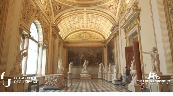 Archaeology: 'Ancient Rome Live – Episode 1' – Uffizi Gallery, Florence