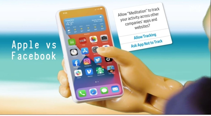 Smartphone Tracking: 'Apple vs Facebook' (WSJ)