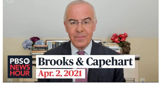 Political News: 'Brooks & Capehart' On Biden's Infrastructure Plan