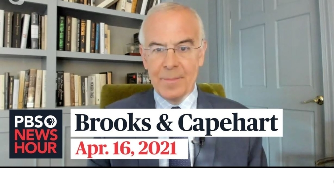 Political News: 'Brooks & Capehart' On Recent Police Shootings (Video)