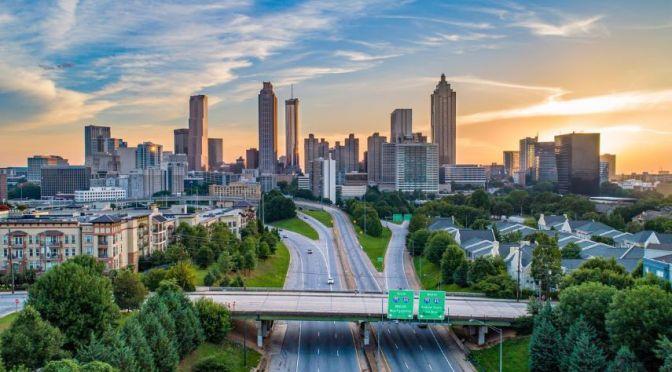 Aerial City Views: 'Atlanta – Georgia' (4K Video)