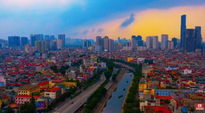 Aerial Travel: 'Hanoi – Capital Of Vietnam' (4K)