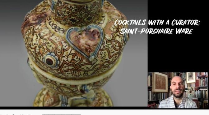 Cocktails With A Curator: 'Saint-Porchaire Ware'
