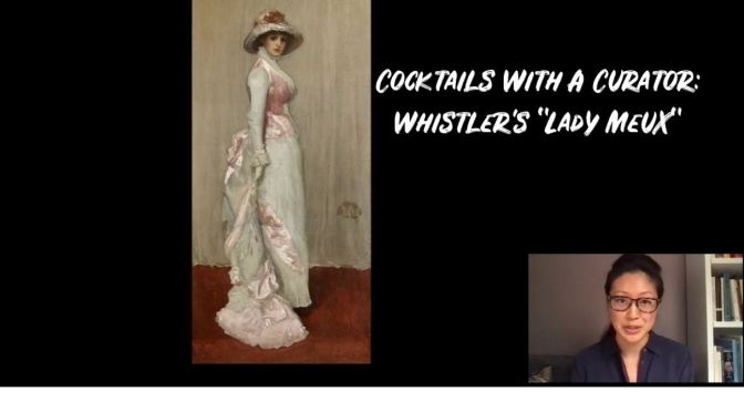 """Cocktails with a Curator: Whistler's """"Lady Meux"""""""