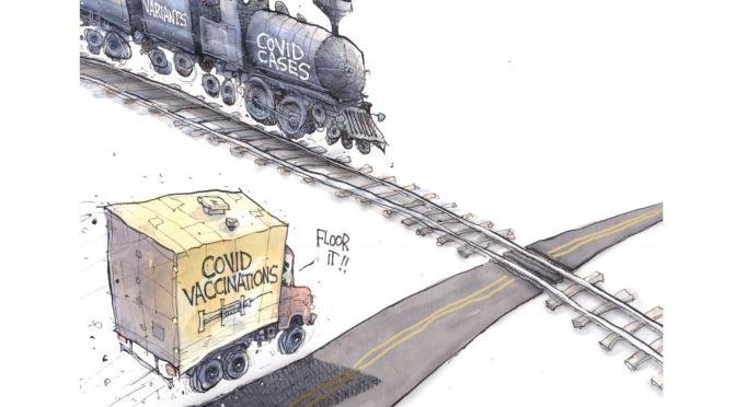 Humor: Covid Cartoons For Week Of April 10, 2021