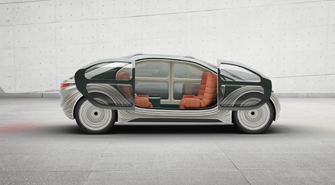 Design: 'Airo' Concept Electric Car From Heatherwick Studio