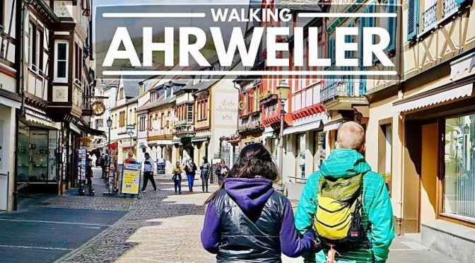Walking Tours: 'Ahrweiler – Western Germany' (4K)