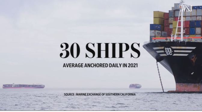Anaylysis: The Cargo Ship Bottleneck In L.A. (Video)