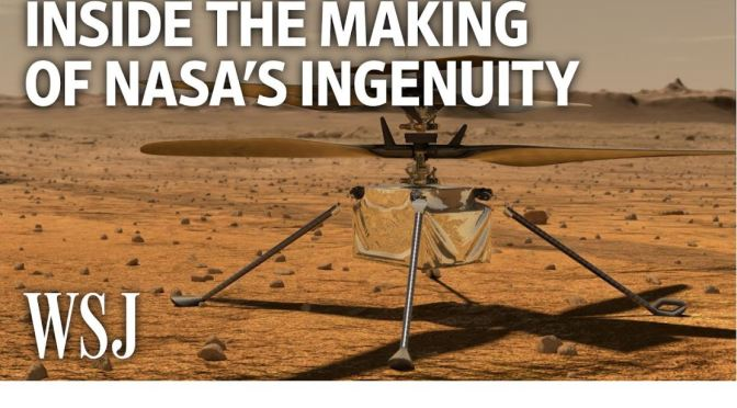 Mars Mission: NASA's Ingenuity Helicopter