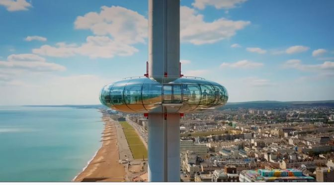 Engineering: The 'British Airways i360 Viewing Tower In Brighton (Video)