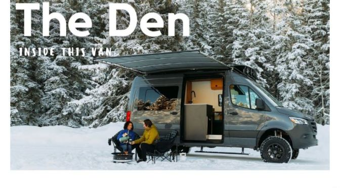 Top Camper Vans: 'The Den' 2021 Yama Sprinter (Video)