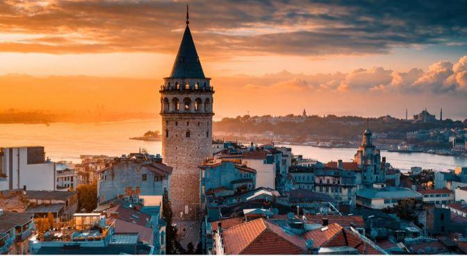 Aerial Views: Istanbul – Turkey (4K Video)