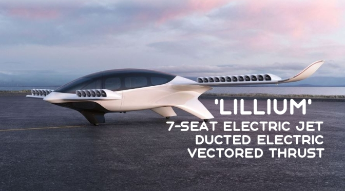 Future Air Travel: 'Lillium' – 7-Seat Electric Vertical Take-Off & Land Jet (Video)