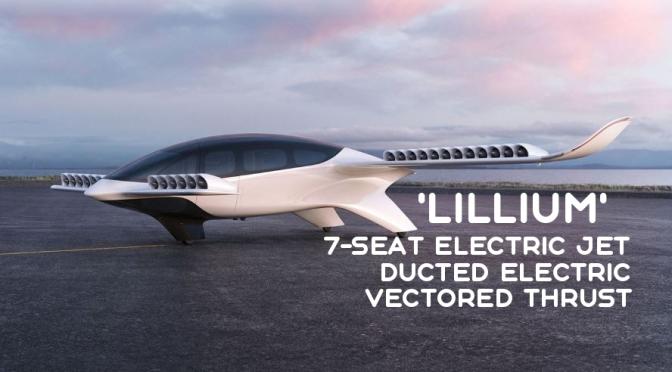 Future Air Travel: 'Lillium' – 7-Seat Electric Vertical Take-Off & Land Jet (Video)