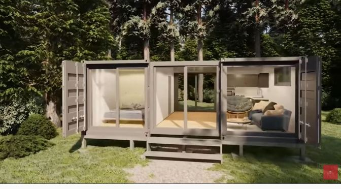 Future Living: Four Space-Saving Tiny Houses (Video)