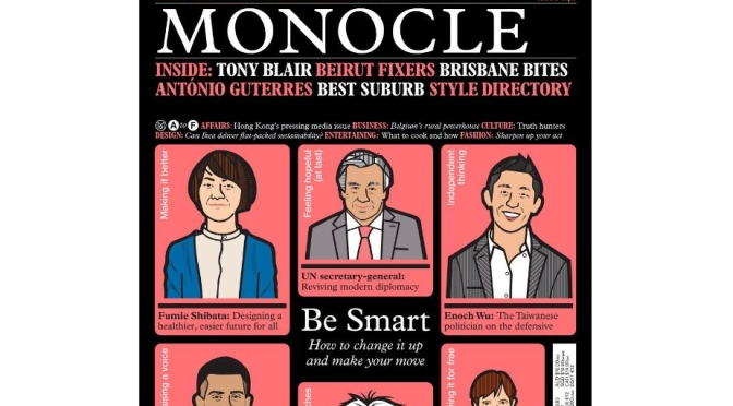 Inside Views: Monocle Magazine – April 2021