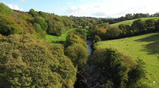 Views: Faughan Valley, Northern Ireland (Video)