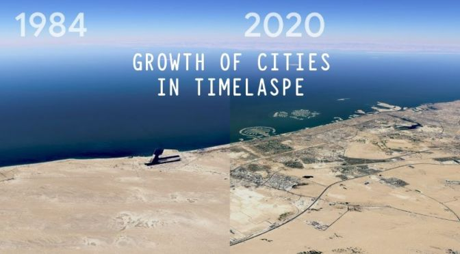 Views: 'Growth Of Cities In Timelapse'  (1984-2020)