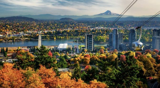 City Views: Portland – Northwest Oregon (4K)