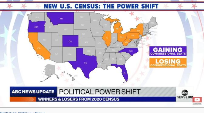 2020 Census: Which States Are Gaining Or Losing Seats In Congress (Video)