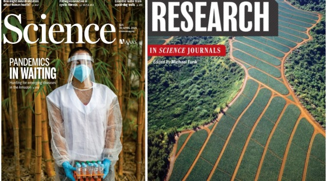 TOP JOURNALS: RESEARCH HIGHLIGHTS FROM SCIENCE MAGAZINE (APRIL 30, 2021)