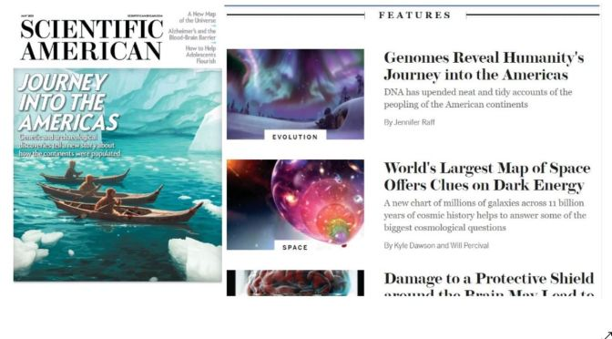 Views: Scientific American – May 2021 Issue Features