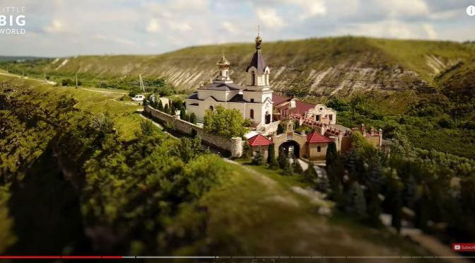 Tilt-Shift Travel: Moldova -Eastern Europe (Video)