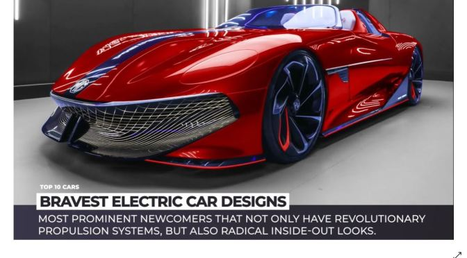 Design: Top 10 Electric Cars For 2021-2022 (Video)