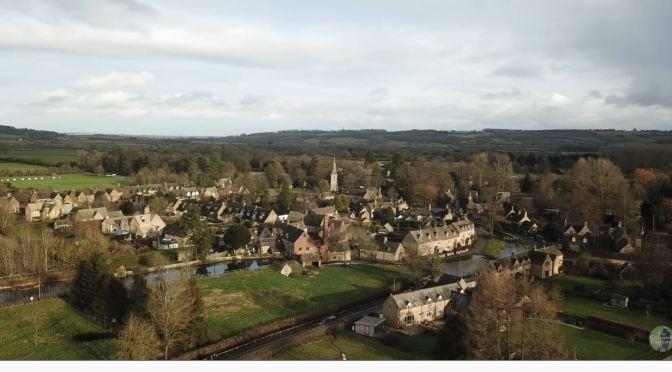 Cotswolds: Broadwell & Donnington, England