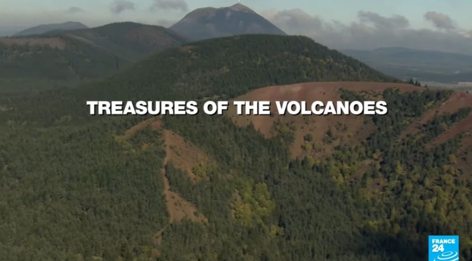 French Views: Auvergne's Volcanic Ensemble (Video)