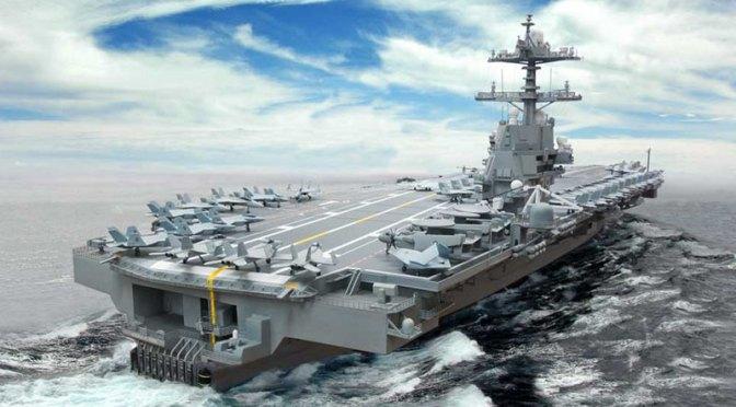Inside Views: 'USS Gerald R. Ford' Aircraft Carrier