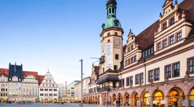 Walking Tour: 'Leipzig – Eastern Germany' (4K)