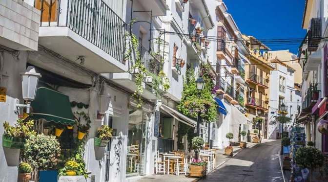 Walks: 'Marbella – Old Town, Southern Spain'