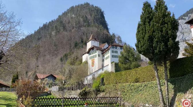 Walks: 'Wimmis Castle – Switzerland' (4K Video)