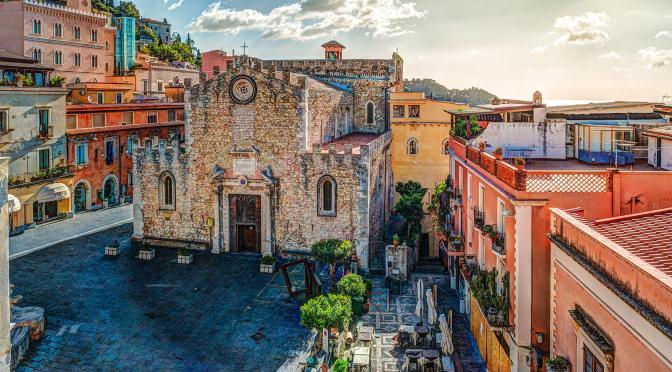 Walking Tour: Taormina – Northeast Sicily' (Video)