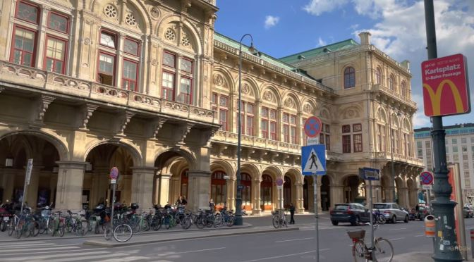 City Center Walks: Vienna – Austria (4K Video)