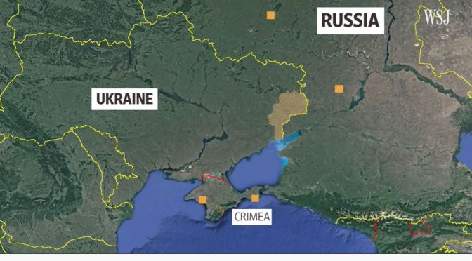 Analysis: Russia's Military On Ukraine's Border (WSJ)