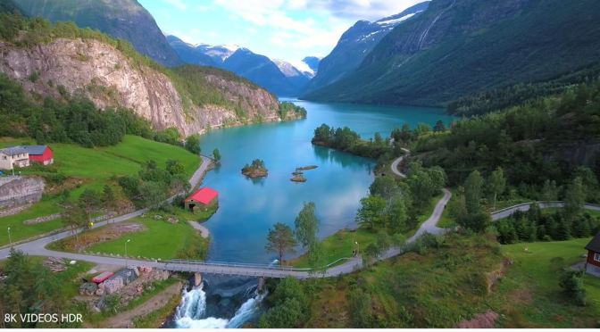8K Views: Europe's Most Beautiful Landscapes