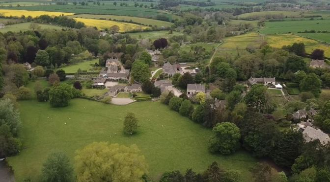The Cotswolds: History Of Village Of Ablington