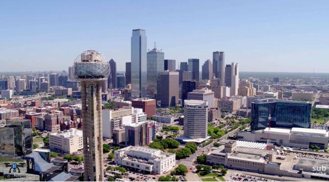 Aerial City Views: Dallas – Northern Texas (4K Video)