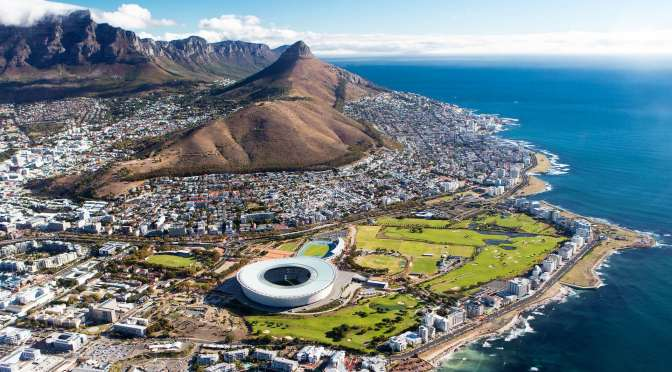 Aerial Views: Cape Town – South Africa (4K Video)