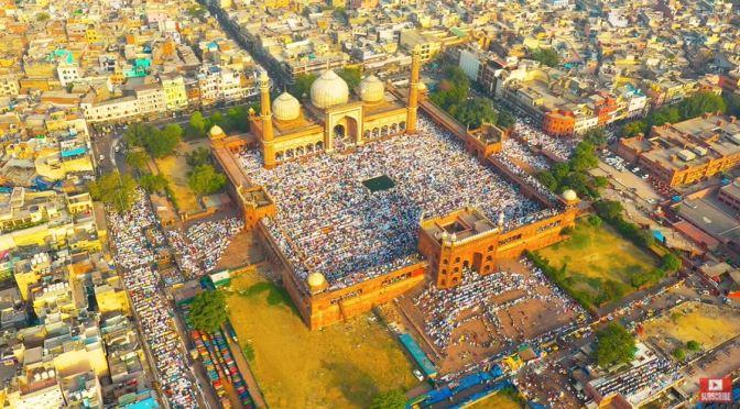 Aerial Travel Views: Delhi – Northern India (Video)