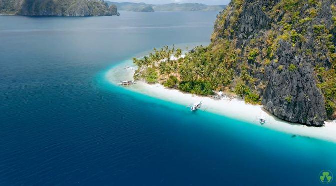 Aerial Views:  Maldives Archipelago (4K Video)
