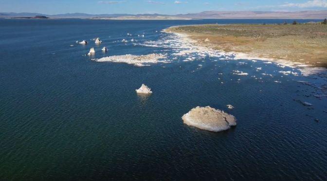 Aerial Views: Mono Lake – Eastern California